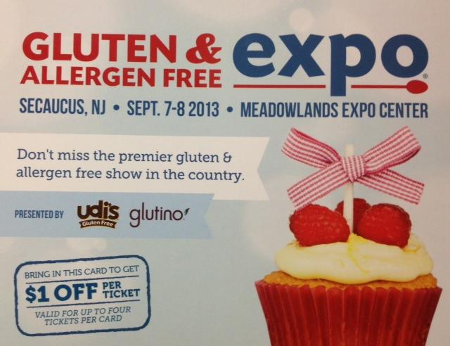 Gluten & Allergen Free Expo in Secaucus, NJ